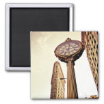 New York - Flatiron Building and Clock Magnets