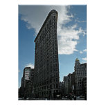 New York Flatiron Building Poster Print