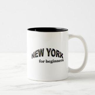 New York  for Beginners Two-Tone Coffee Mug