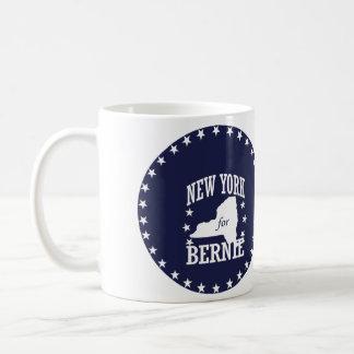 NEW YORK FOR BERNIE SANDERS COFFEE MUG