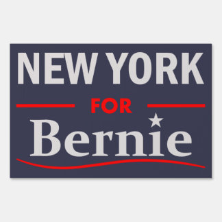 New York for Bernie Sign