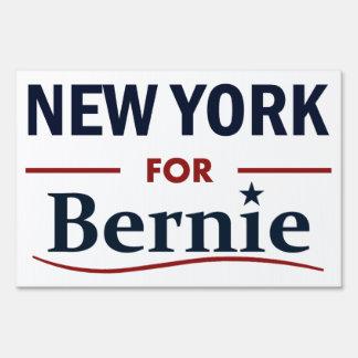 New York for Bernie Yard Sign