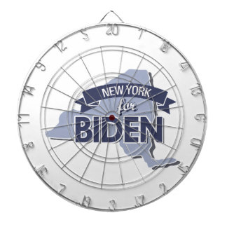 NEW YORK FOR BIDEN -.png Dartboard With Darts