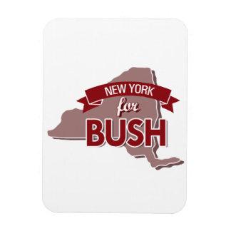 NEW YORK FOR BUSH -.png Rectangular Photo Magnet