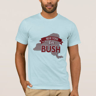 NEW YORK FOR BUSH -.png T-Shirt