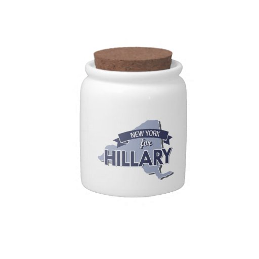 NEW YORK FOR HILLARY -.png Candy Dish