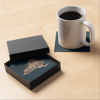 NEW YORK FOR HILLARY DRINK COASTERS