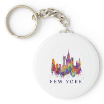 New York for Men Women and Kids Keychain