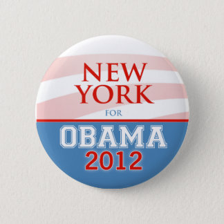 NEW YORK for Obama 2012 Pinback Button
