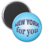 New York for You Magnets