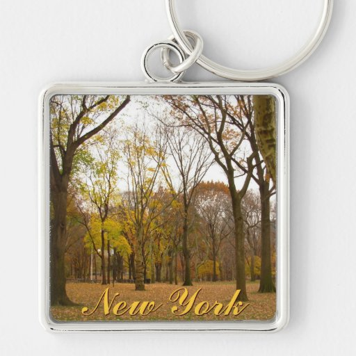 New York Forest Key Chain New York Souvenirs