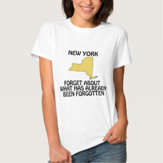 New York - Forget About What Has Already Been T-shirt