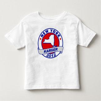 New York Fred Karger Toddler T-shirt