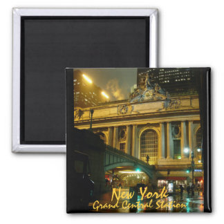New York Fridge Magnet Grand Central Souvenirs