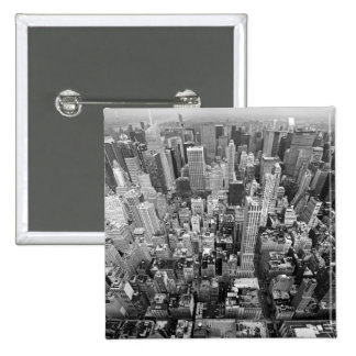 New York from Above Pin