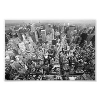 New York from Above Photo Print