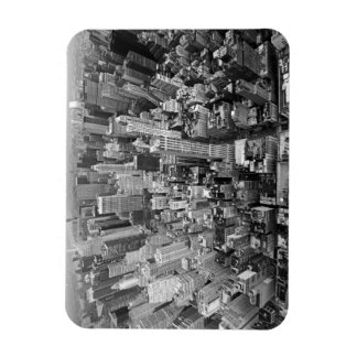 New York from Above Rectangular Photo Magnet