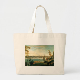 New York from Brooklyn Heights circa 1834 Bags