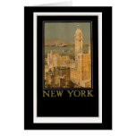 New York from Glasgow by the Anchor Line Greeting Card