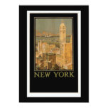 New York from Glasgow by the Anchor Line 5x7 Paper Invitation Card