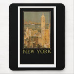 New York from Glasgow by the Anchor Line Mouse Pad