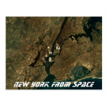 New York From Space Postcards
