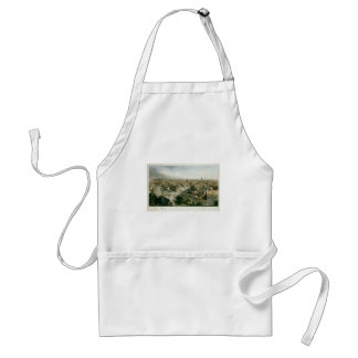 New York from the Steeple of Saint Paul's Church Adult Apron