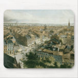 New York from the Steeple of Saint Paul's Church Mousepad