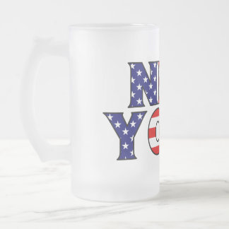 New York Frosted Mug