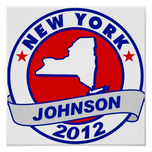 New York Gary Johnson Posters