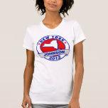 New York Gary Johnson Tee Shirts