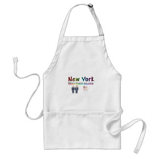 New York Gay Marriage Apron