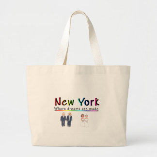 New York Gay Marriage Tote Bag