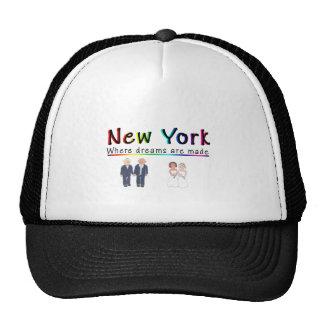 New York Gay Marriage Trucker Hats