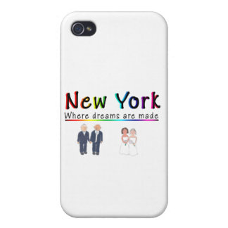 New York Gay Marriage iPhone 4/4S Covers