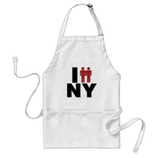 New York Gay Marriage Law Adult Apron