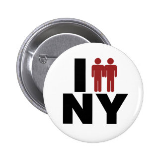 New York Gay Marriage Law Button