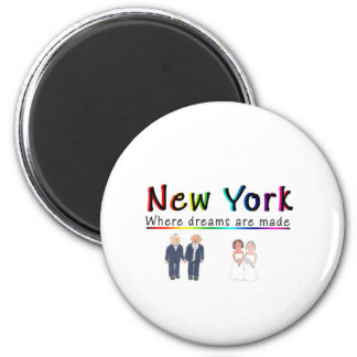 New York Gay Marriage Magnet