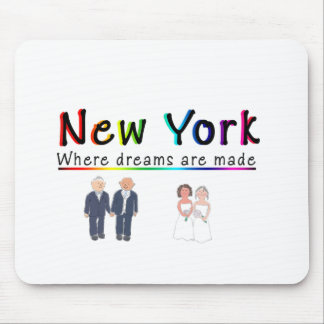 New York Gay Marriage Mousepads