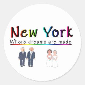 New York Gay Marriage Sticker
