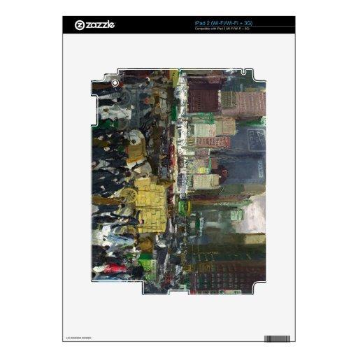 New York - George Bellows iPad 2 Skin