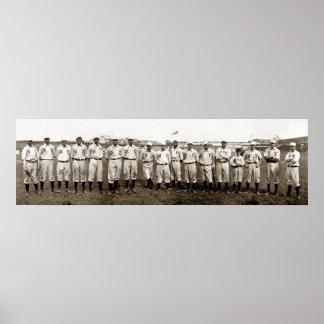 New York Giants 1905 - Vintage Poster