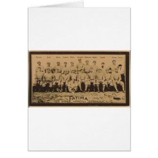 New York Giants 1913 Card