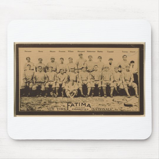 New York Giants 1913 Mouse Pad