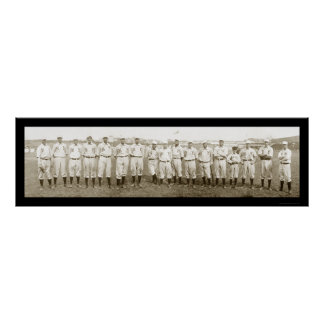 New York Giants Baseball Photo 1905 Poster