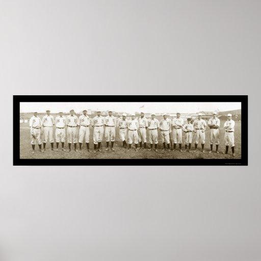 New York Giants Baseball Photo 1905 Poster