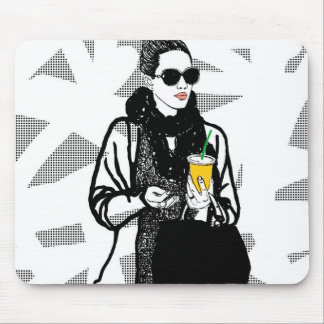 New York Girl Serie Mouse Pad