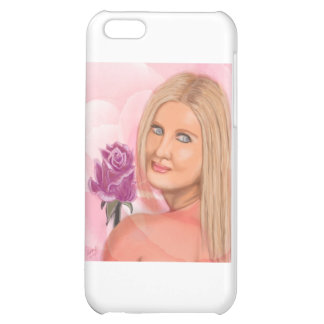 New York Girl with Rose iPhone 5C Cases