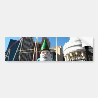 New York Gnome Bumper Stickers