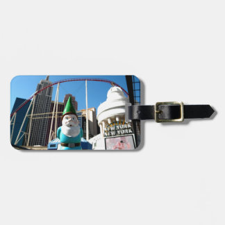 New York Gnome Tag For Bags